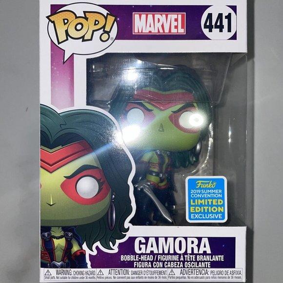 Funko Pop Marvel Gamora #441 2019 SDCC Limited Edition Exclusive